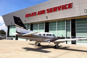 Beech King Air C90GTi fliegt in Etappen in die USA