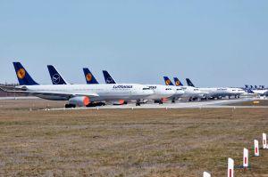 Lufthansa einigt sich mit fast Allen auf Kurzarbeit