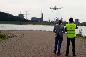 Geodaten eröffnen präzise Anwendungen für Drohnen