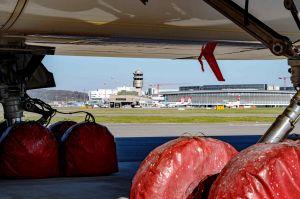 99 Prozent weniger Passagiere am Flughafen Zürich
