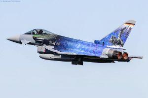 Eurofighter fliegt auch ohne ILA mit Sondermotiv