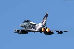 """Eurofighter mit Sonderfolierung """"Sword of Boelcke"""""""