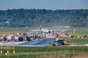 Erneuerung der Piste: Voller Flugbetrieb im Juni?