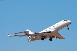 Bombardier Global Express zur PPI bei Corona