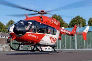 EC145 beerbt BK 117 bei DRF Luftrettung in Dortmund