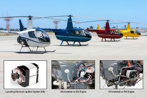Robinson Helicopter: Zündung per EIS von Lycoming