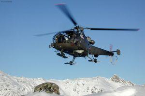 Bundesheer im Nachtflug: Alouette III bei Bergrettung