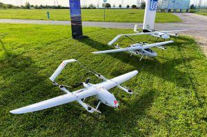 Drohnen auf Langstrecken: Genehmigung für Stromtrassen?