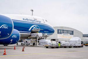 Frachtumschlag am Flughafen Leipzig/Halle floriert