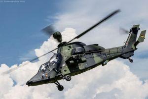 Hubschrauber Tiger erreicht 10.000 Stunden Meilenstein
