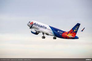 A320neo erstmals bei Aircalin angekommen