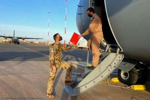 Luft- und Lagebild: Nachrichtenoffizier in Mali