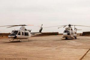 Zivile Rettungshubschrauber für die Bundeswehr in Mali