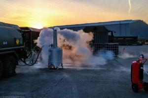 Flüssigsauerstoff – Luftwaffe produziert noch selbst