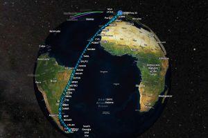 Lufthansa plant mit A350 Rekordflug um die halbe Welt