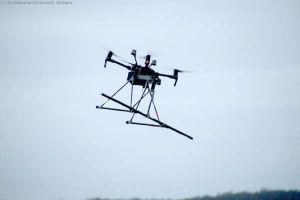 Drohne spürt Blindgänger im Moor auf