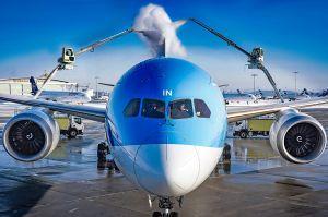 Warme Dusche für Dreamliner bei klirrender Kälte