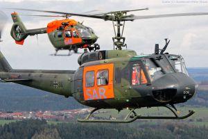 Bell UH-1D: Teppichklopfer ausgemustert, H145 komplett