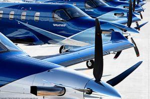 Pilatus übergibt 1.800. Flugzeug des PC-12