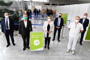 Impfen vom Betriebsarzt: Modell Flughafen Stuttgart