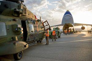 Antonow holt Hubschrauber NH-90 heim