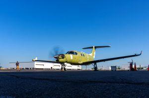 Denali Beechcraft lässt erstmals Motor laufen