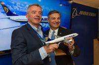 Ryanair schließt Bestellung für 175 Next-Generation Boeing 737 ab