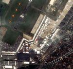 Satellitenfoto von der 50. Paris Air Show