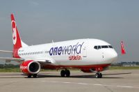 Boeing 737-800 mit oneworld-Lackierung in DUS