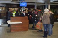 Terminal für non Schengen am Flughafen Bern-Belp