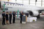 Neue Embraer 195 der Lufthansa im Liniendienst