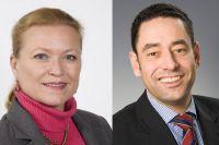 Markus Kopp und Bettina Ganghofer leiten Flughafen Dresden