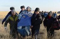 ESA-Astronaut Parmitano auf der Erde gelandet