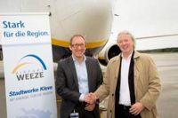 Airport Weeze erhält Strom aus Sonne und Region
