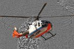 Fluglärm-Entstehung am Hubschrauber sichtbar gemacht