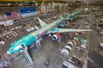 Produktion der Boeing 777 bei 8,3 Flugzeuge im Monat
