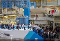 Neue A350-XWB-Endmontagelinie in Toulouse eingeweiht