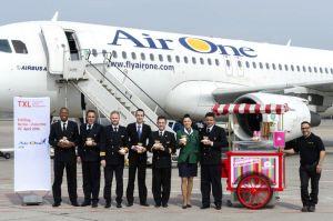 AirOne bringt Berlin drei neue Flugziele in Italien