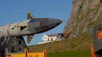 Aerodynamik mit scharfen Kanten - Flugkörper Shefex 2