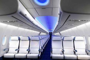 Boeing mit modularer Nachrüstung des Boeing Sky Interior