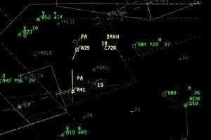 Current Alert: Annäherung auf 0,06 NM im Luftraum E