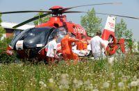 DRF Luftrettung wirbt mit extra Mitarbeitern um Förderung