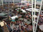 Wintermarkt am Airport München mit buntem Programm