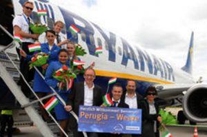 Ryanair verbindet Airport Weeze mit Perugia in Umbrien