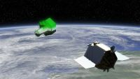 Designphase für DEOS: Defekte Satelliten entsorgen