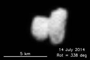 Komet überrascht Wissenschaftler: Fotos von Rosetta