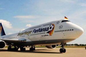 """Fanhansa-Siegerflieger """"Yankee-India"""" fliegt weiter bis zur Fußball-EM"""