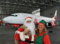 """airberlin startet """"Flying Home for Christmas"""" Tour in München"""