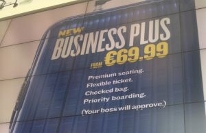 Ryanair Business Plus Programm gestartet