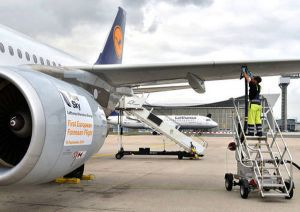 Biokerosin erstmals in europäischem Linienflug eingesetzt